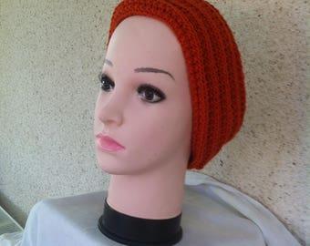 Headband and choker, hand-knitted