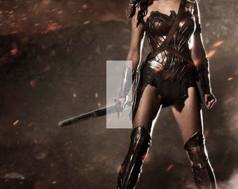 Wonder Woman Dawn of Justice Single Light Switch Plate Cover Justice League