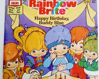 Book- Rainbow Brite, Happy Birthday Buddy Blue
