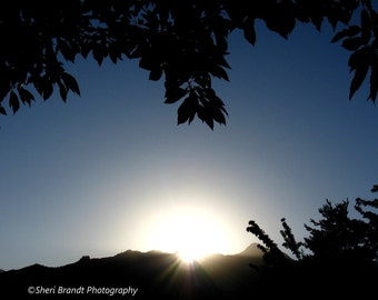 "Sunrise in Utah - Original Signed 11""x14"" Fine Art Photograph"