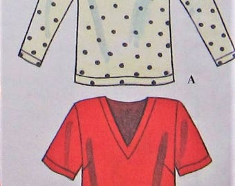 Top Sewing Pattern UNCUT Simplicity 9086 Sizes 8-14