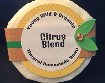 Citrus Blend || Natural Goat's Milk Soap