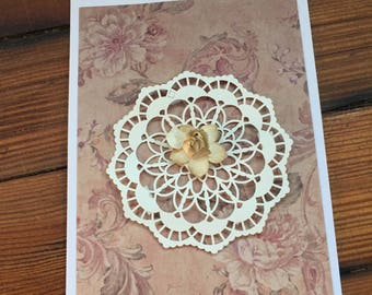 Individual Flower Cards