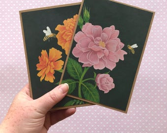 set of 2 happy cards - weheartconfetti