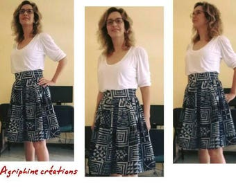 Name I MIDI skirt made in Ndop midi skirt