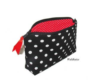 "Make-up bag, make-up bag, ""Rockabilly"" black"