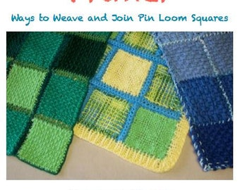 Pin Loom Primer Project Book Zoom Loom Squares Custom Design Weaving