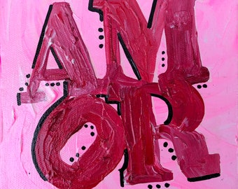AMOR Painting