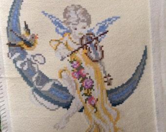 Gobelin of an Angel, Unframed, Wall decor