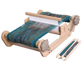 "10"" or 16"" Ashford SAMPLEIT Rigid Heddle Loom with double heddle option"
