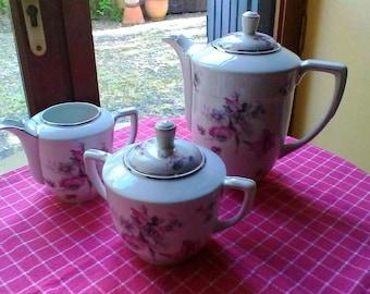 Thé ou café Set - Français Limoges vintage