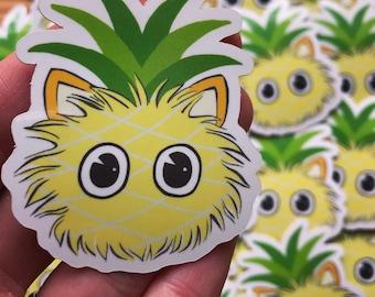 Pineapple  Galarple logo sticker