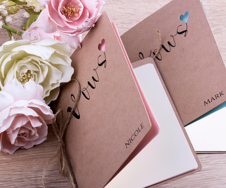 Unique Wedding Vows: Rustic Vows Books Wedding Book Personalized Wedding Vows