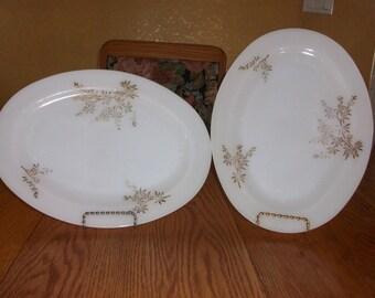 Platter FEDERAL GLASS PLATTERS