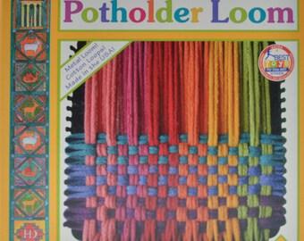 "Pot Holder Weaving Loom, 7"""