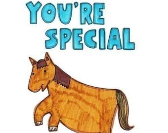 Felt Tip Fun Card - You're Special