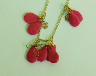 Polymer Bee Necklace