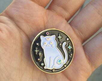 Third Eye Cosmic Cat - Enamel Pin