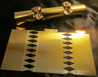 Gold cracker etsy party cracker poppers custom diy cracker kit luxury metallic gold personalize crackers with solutioingenieria Choice Image