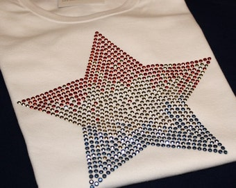 USA ombré star by 1286 kIDS (formerly Daisy Creek Designs)