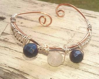 Adjustible cuff bracelet