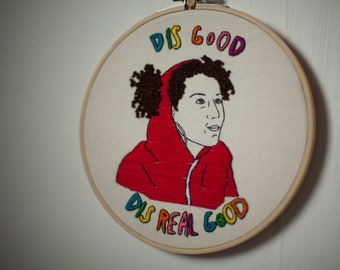 Broad City Ilana embroidery
