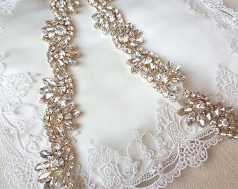 Thin bridal belt, gold belt, gold bridal belt, gold sash belt, bridal sash, skinny belt, Bridal belt, Wedding belt, gold wedding belt, LILLY