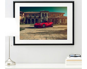 F12 Berlinetta Front Angle, automotive photography, automotive prints, car photography, car prints, Italian supercar, @richardlephoto