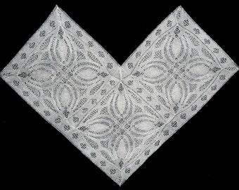 Art Deco  Shawl Knitting Pattern  - PDF file