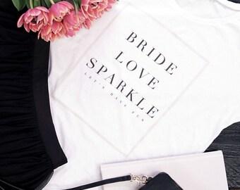 T-shirt bridal JGA-Wedding Bridal Honeymoon