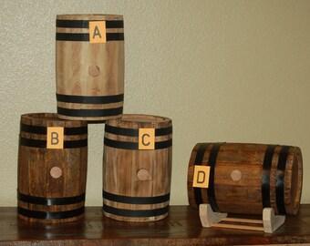 Rustic Handmade Barrels