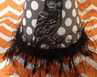Owl Polka Dot night light