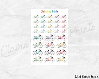 BICYCLE Planner Stickers