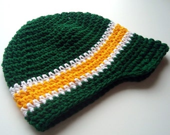 ON SALE, Adult size Visor Hat, Reserved for Kelly, MADE To Order