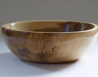 Spalted Birch Wooden Bowl