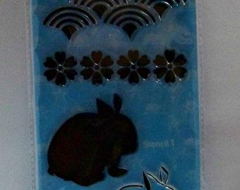 Easter Stamp Set by Hampton Art