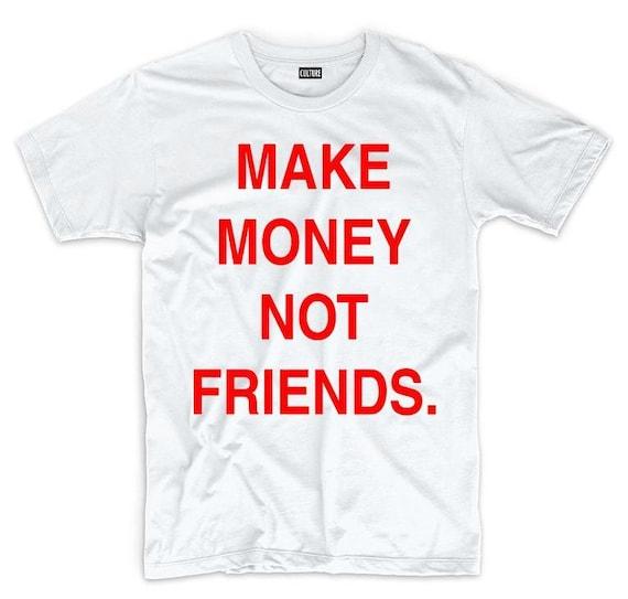 MAKE MONEY RED Tee