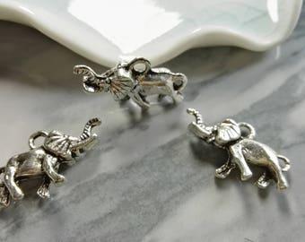 25Pcs Elephants Charms , Elephants Pendants , Elephants Jewelry , Findings