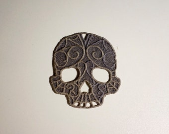 Lace Skull Patch