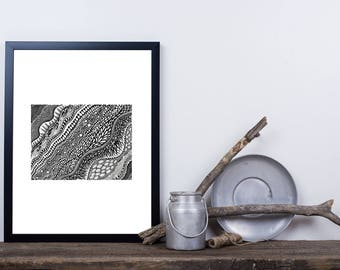 Sedimental Print