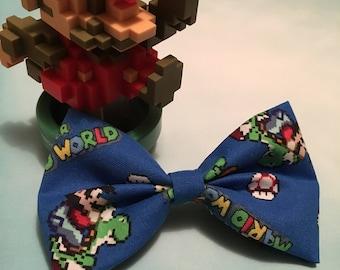 Mario Inspired Bow