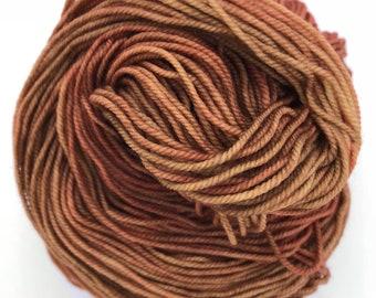Deliciously Crumbly 4ply hand dyed merino nylon sock yarn 100g