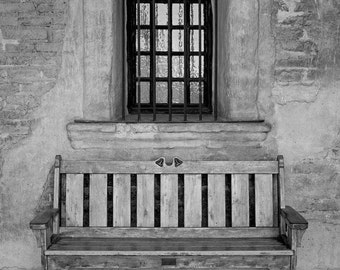 San Juan Capistrano Mission - 4  Photos - Architecture Photography - Black and White Photography