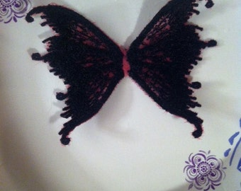 3 inch wing embroidery file for 4x4 hoop jef, hus, xxx, exp & pes files