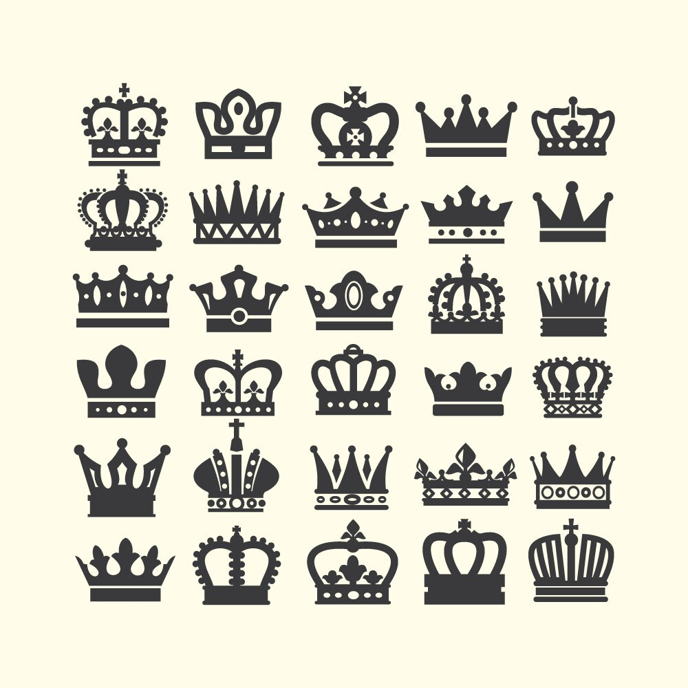 Crown Clipart Crown Clip Art Queen Crown King Crown