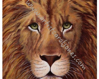 LOIN Ardent Protecter-Original Painting-Giclee Canvas-Paper Print-Cards