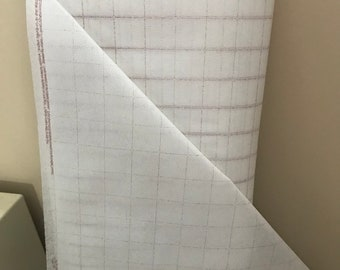 "Quiltsmart Grid Interfacing — 1"" grid (0.5"" finished) on the bolt"