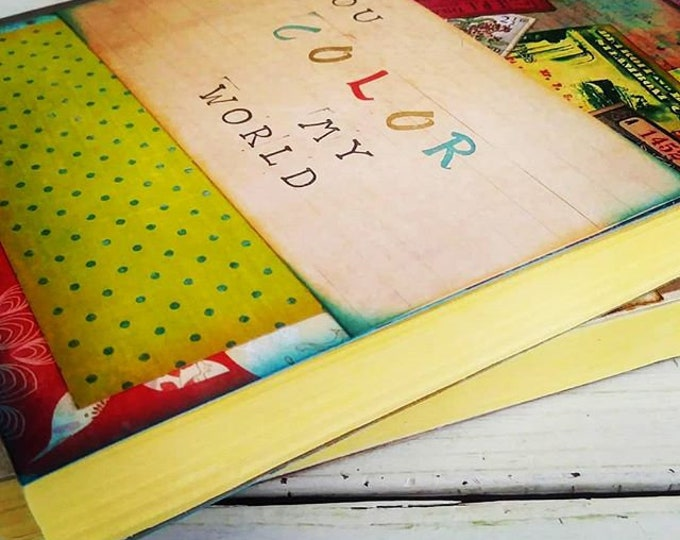 Featured listing image: Color My World Journal with Unlined Pages