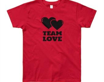 Team Love Youth Short Sleeve T-Shirt
