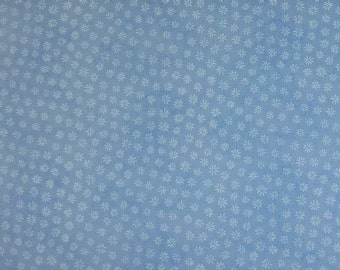 One Yard of Sky Blue Quality Quilt Cotton Fabric by Fabric Traditions